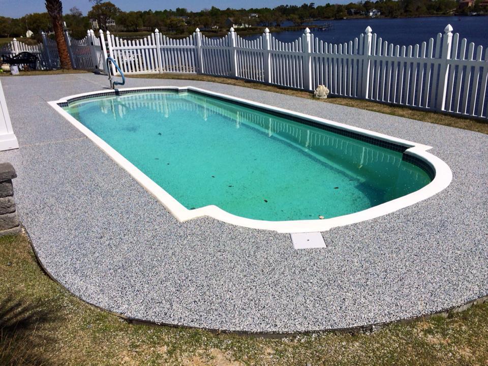 GraniFlex Swimming Pool Concrete Deck