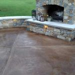 Slate Stained Concrete | Allen Texas